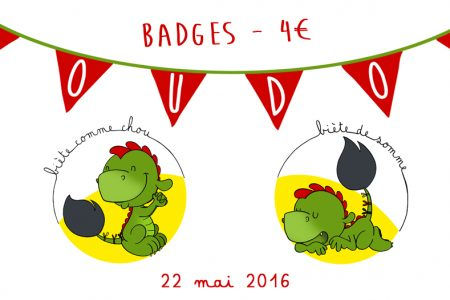 Badges Ducasse de Mons 2