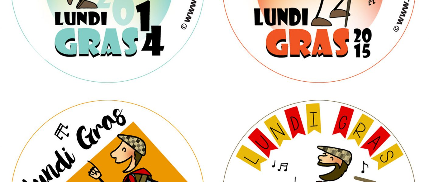 Badges lundi gras